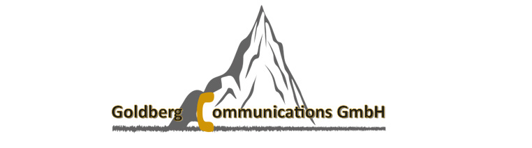 Logo Goldberg Communications GmbH