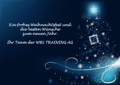 Frohe Weihnachten Und Einen Guten Rutsch Ins Neue Jahr Wbs Training Ag